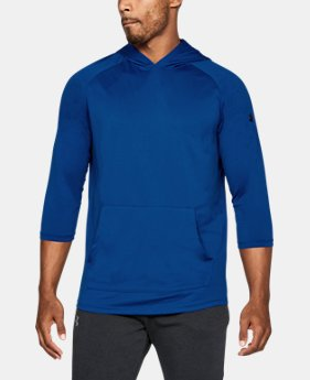 New Arrival Men's UA Tech™ ¾ Sleeve Hoodie  2 Colors $35