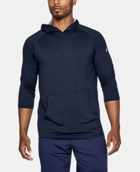 New Arrival Men's UA Tech™ ¾ Sleeve Hoodie  1 Color $35