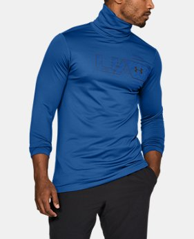 New Arrival Men's ColdGear® Armour Fitted Funnel Neck  1 Color $50