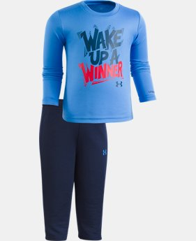 Boys' Infant UA Wake Up A Winner Set  1  Color $24.99