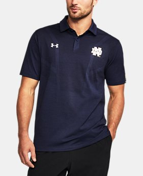Men's Notre Dame UA Tour Polo  1 Color $84.99
