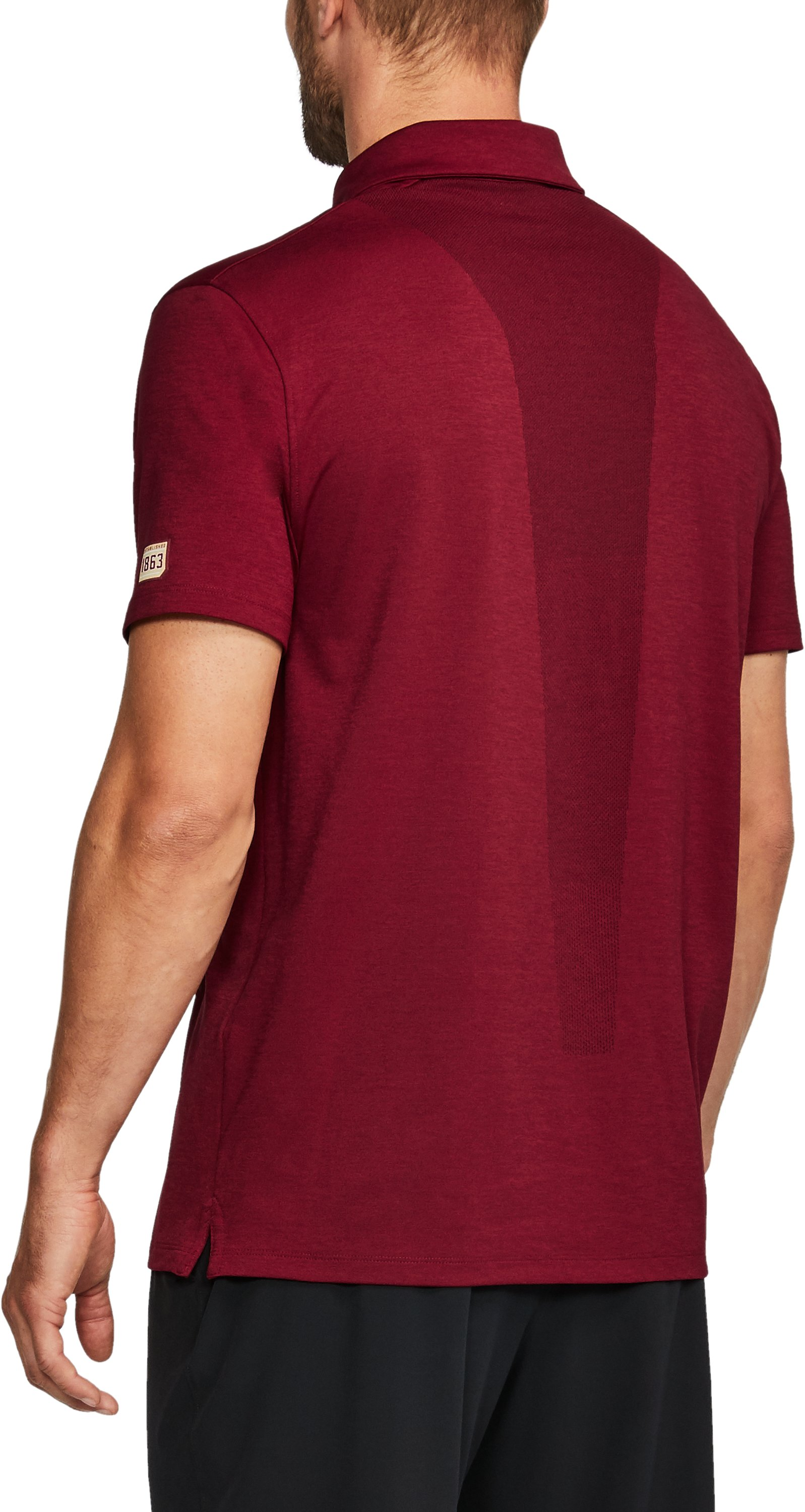 Men's Boston College UA Tour Polo, Maroon, undefined