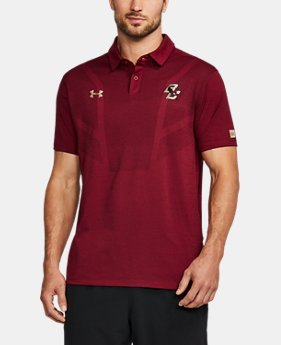 Men's Boston College UA Tour Polo  1 Color $84.99
