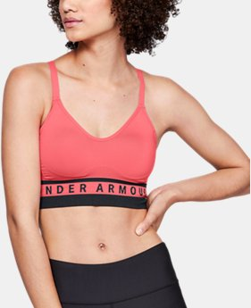 Women's UA Seamless Longline Sports Bra  3  Colors Available $35
