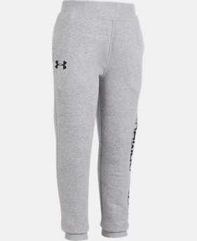 New Arrival Boys' Pre-School UA Threadborne Joggers   $31.99