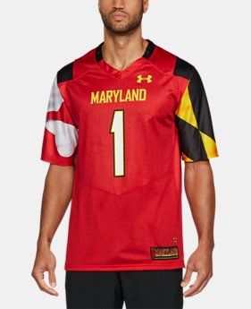 Men's Maryland Replica Jersey FREE U.S. SHIPPING 1  Color Available $94.99