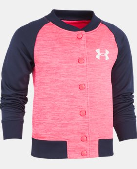 Girls' Pre-School UA Elevated Armour Fleece® Jacket  1 Color $35.99