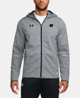 New Arrival Men's Wisconsin UA Swacket  1 Color $169.99