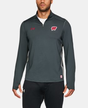 Men's Wisconsin ColdGear® Reactor ¼ Zip  1  Color $84.99