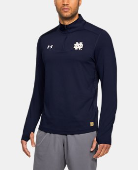New Arrival Men's Notre Dame ColdGear® Reactor ¼ Zip  1 Color $84.99