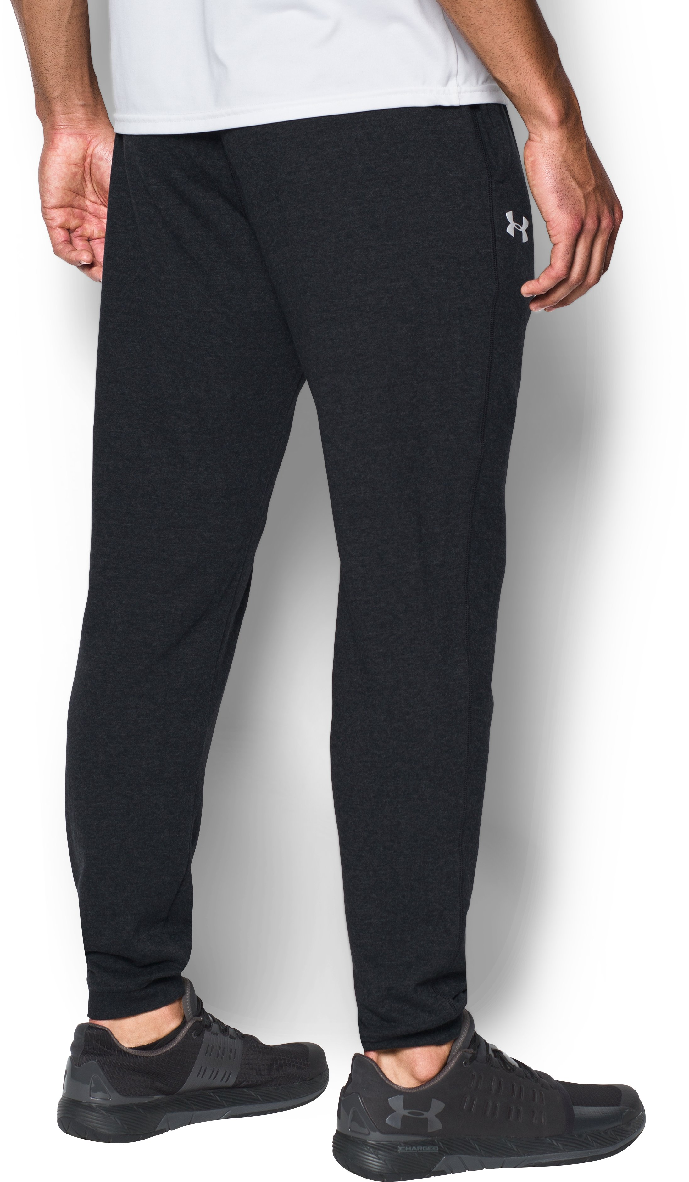 Men's Wisconsin Fleece Joggers, Black ,