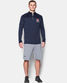 Men's Auburn Printed ¼ Zip  1  Color Available $64.99