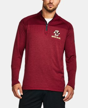 Men's Boston College Printed ¼ Zip  1 Color $64.99