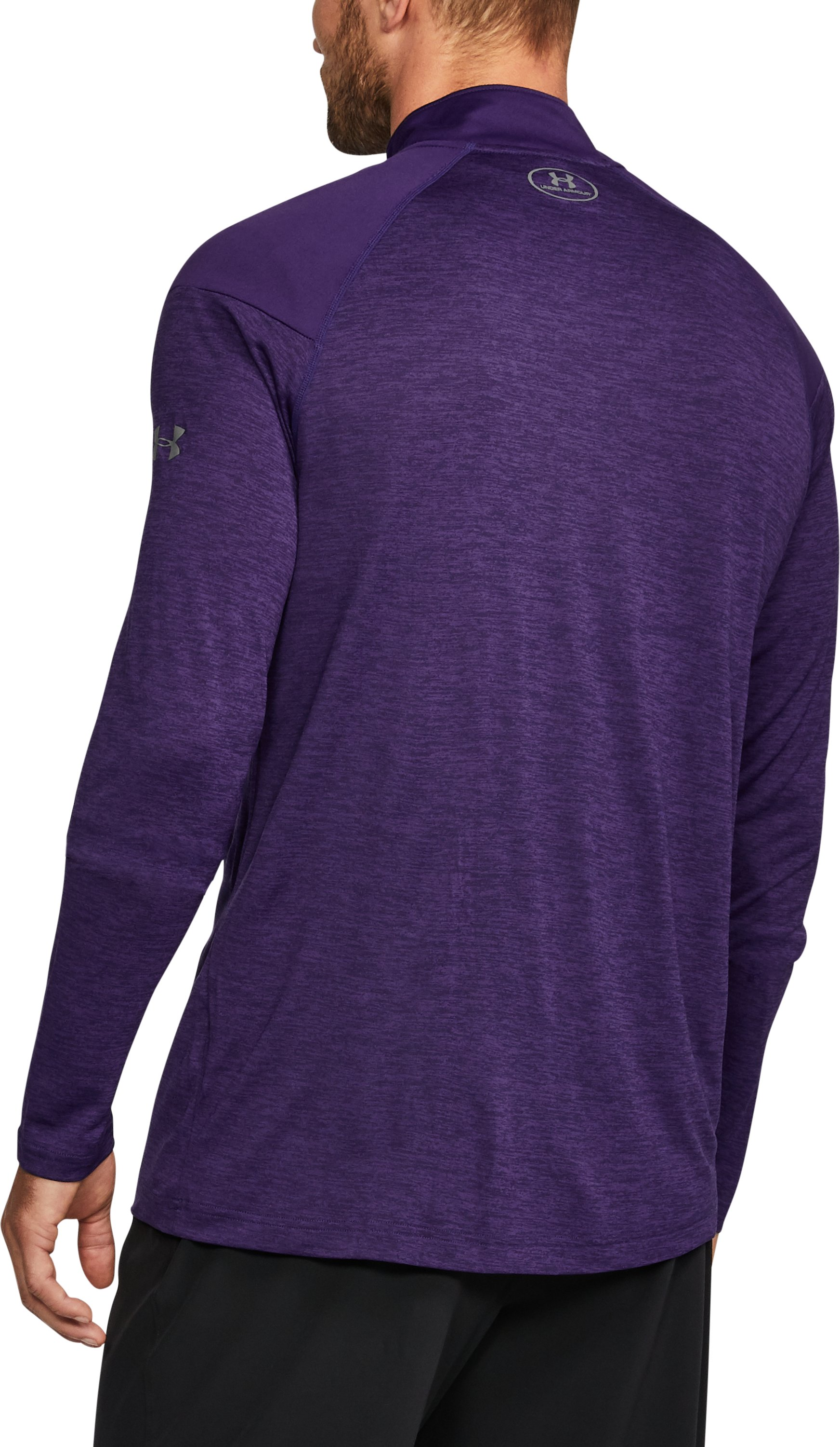Men's Northwestern ¼ Zip, Purple, undefined