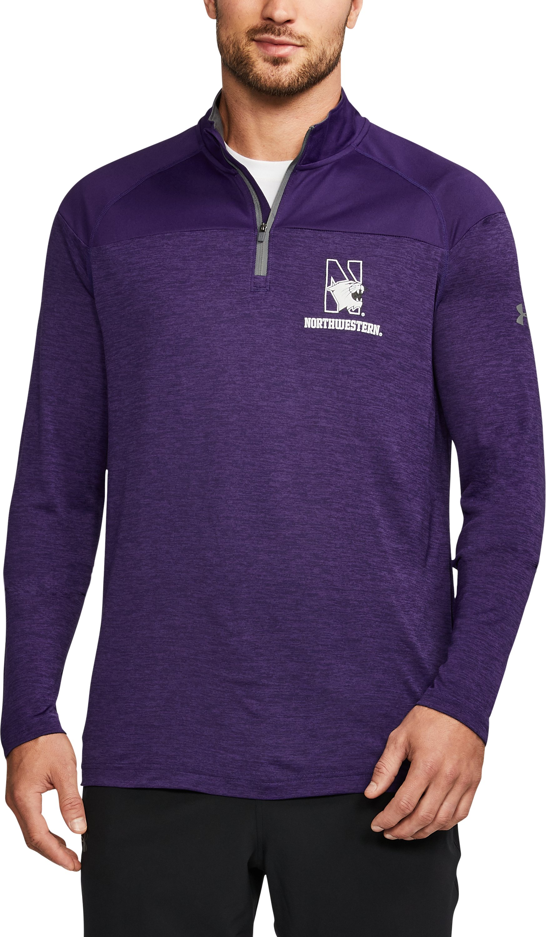 Men's Northwestern ¼ Zip, Purple