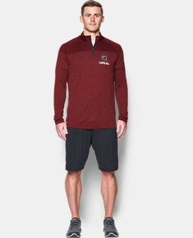 Men's South Carolina Printed ¼ Zip  1 Color $64.99
