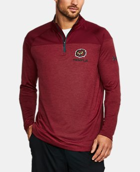 Men's Temple Printed ¼ Zip  1 Color $64.99