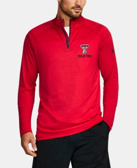 Men's Texas Tech Printed ¼ Zip  1 Color $64.99