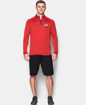 Men's Utah Printed ¼ Zip  1 Color $64.99