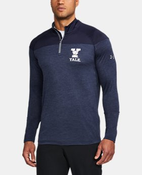 New Arrival Men's Yale Printed ¼ Zip  1 Color $64.99