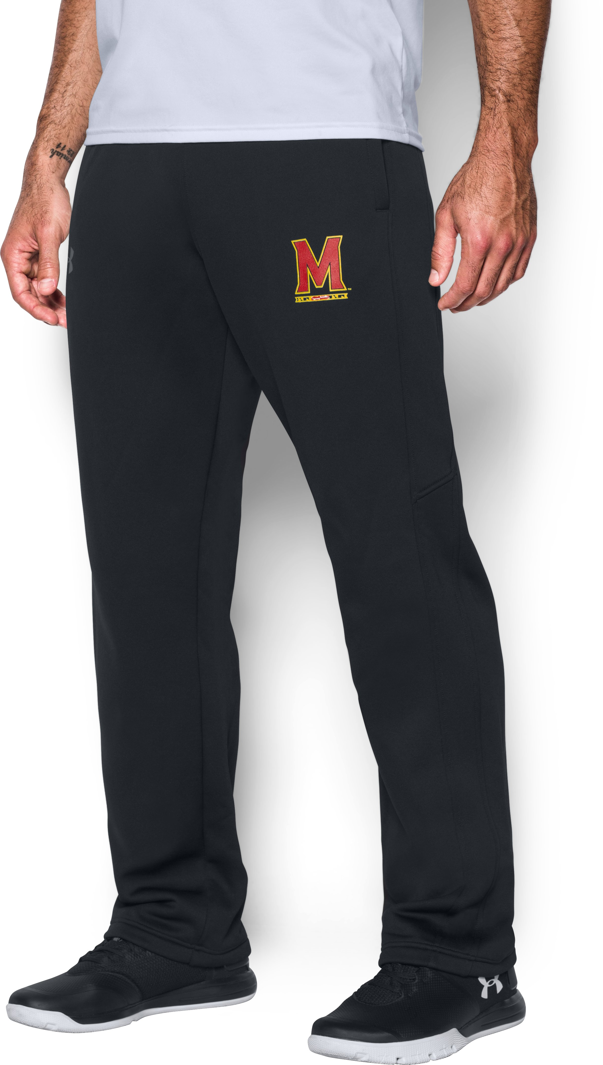 Men's Maryland Armour® Fleece Pants, Black
