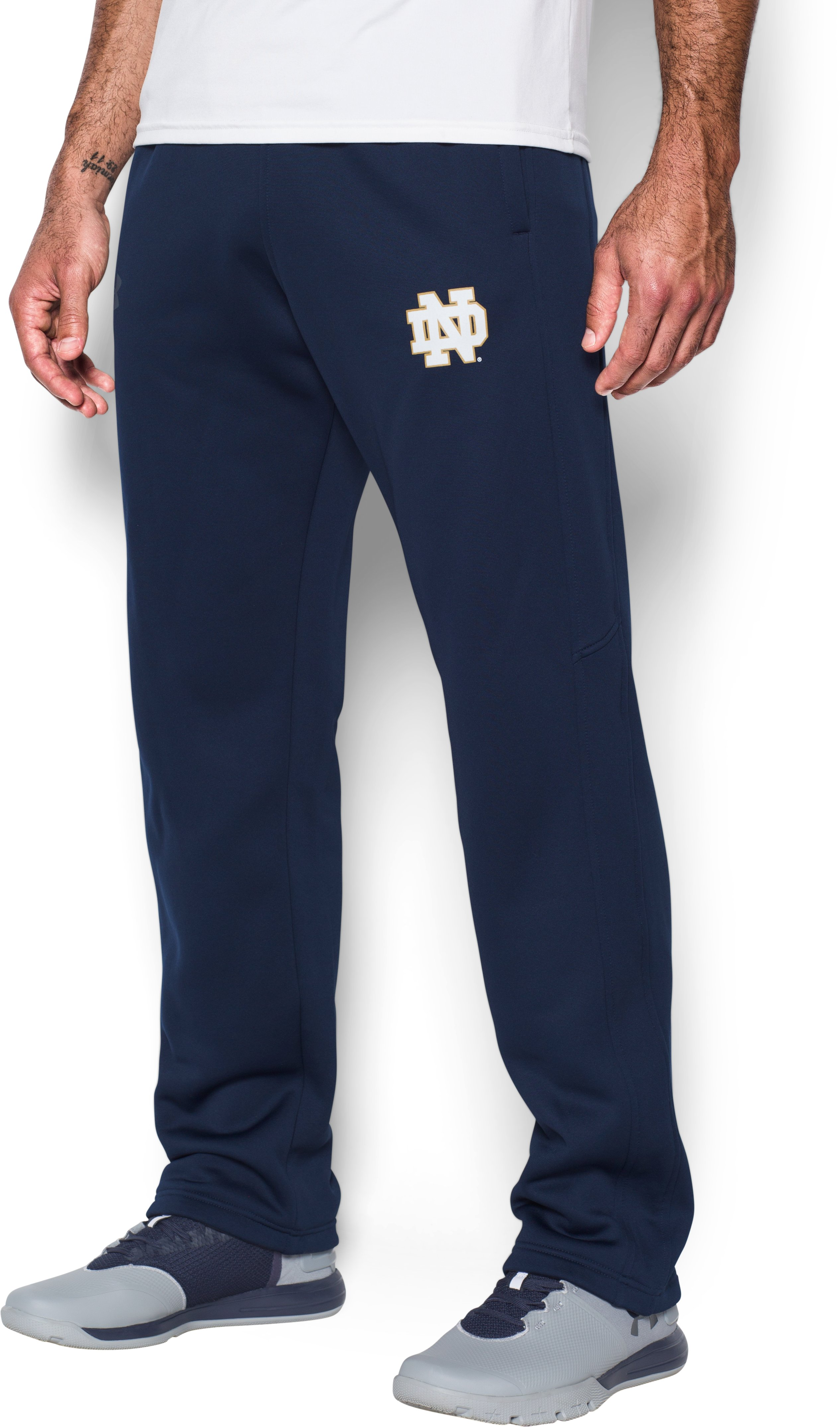 Men's Notre Dame Armour Fleece® Pants, Midnight Navy, undefined