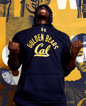 Men's Cal Bears Fleece Hoodie  1 Color $74.99