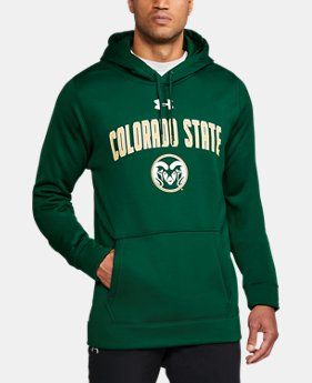 Men's Colorado State Armour® Fleece Hoodie  1 Color $74.99