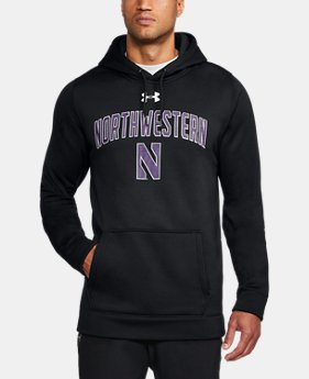 New Arrival Men's Northwestern Armour® Fleece Hoodie  1 Color $74.99