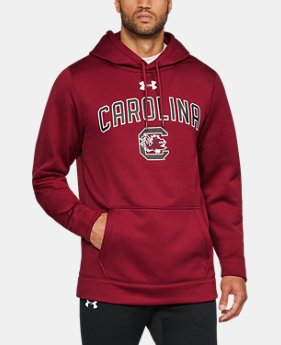New Arrival Men's South Carolina Armour® Fleece Hoodie  1 Color $74.99