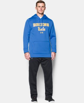 Men's UCLA Armour® Fleece Hoodie  1 Color $74.99