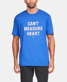 New Arrival Men's TB12 UA Can't Measure Heart T-Shirt  1 Color $34.99