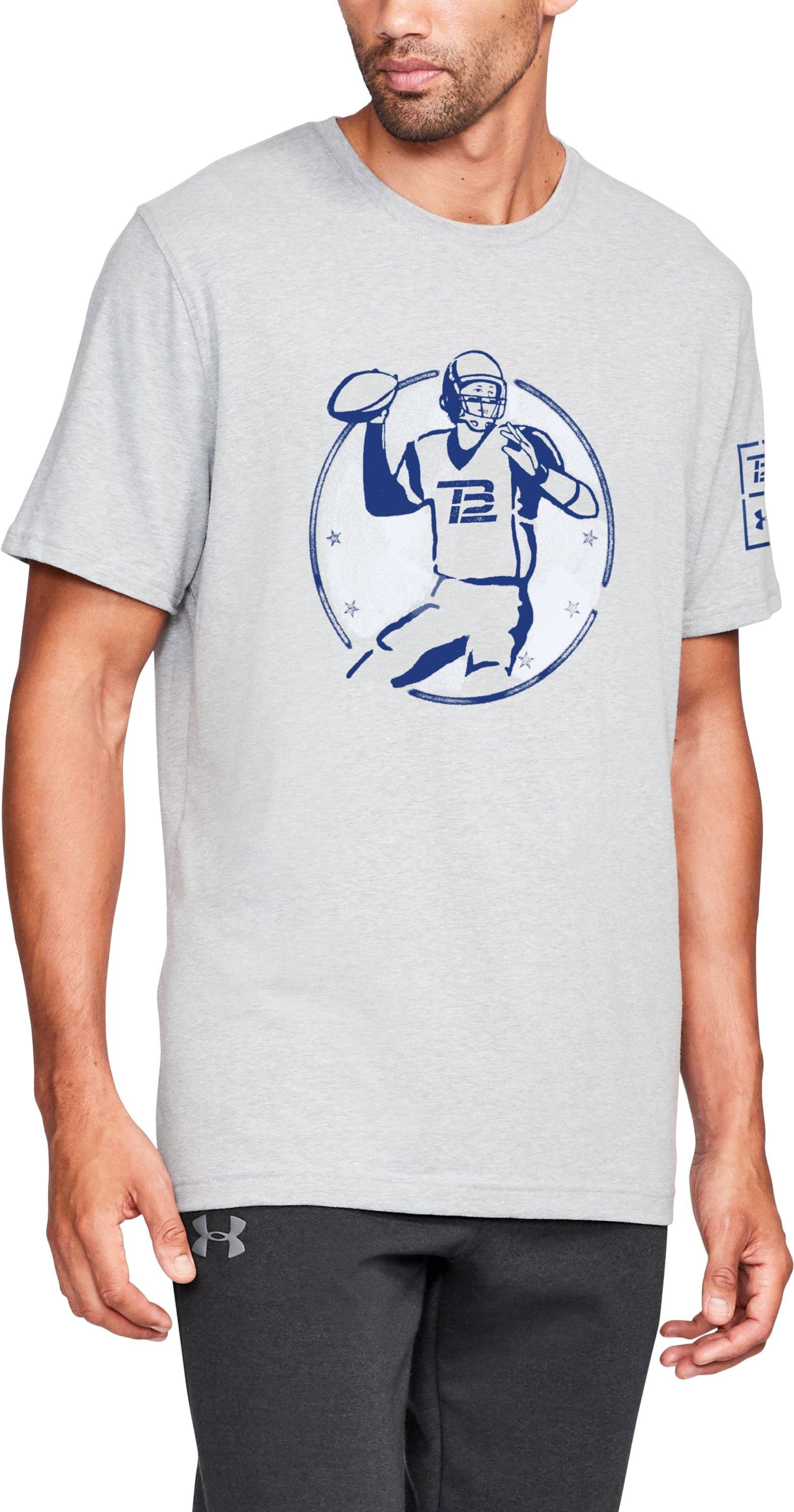 Men's TB12 UA Play To Win T-Shirt 1 Color $26.99