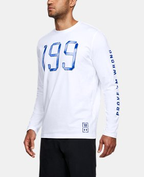 New Arrival Men's TB12 UA 199 Long Sleeve T-Shirt  1 Color $39.99