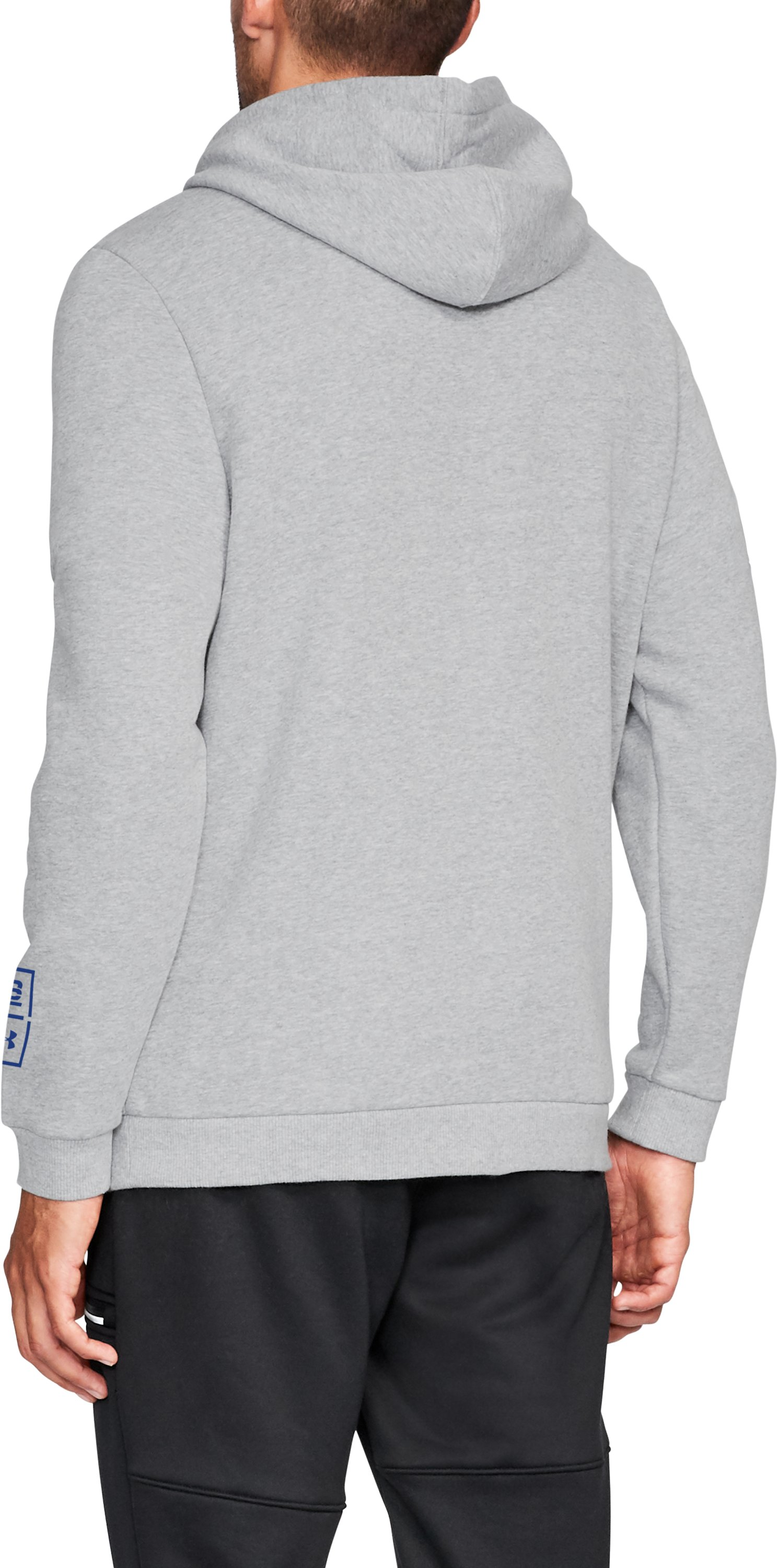Men's TB12 199 Hoodie, STEEL LIGHT HEATHER,