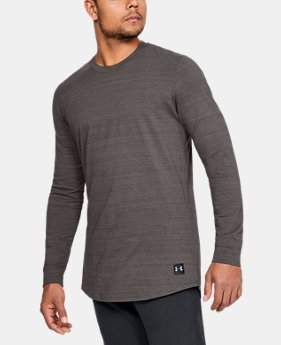 Men's UA Sportstyle Long Sleeve  1  Color Available $50