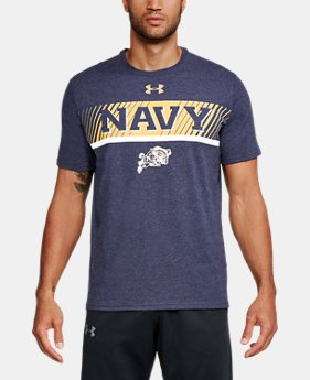 New Arrival Men's Naval Academy Charged Cotton® T-Shirt  1 Color $34.99
