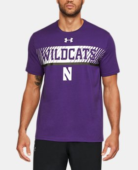 New Arrival Men's Northwestern Charged Cotton® T-Shirt  1 Color $34.99
