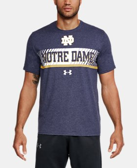 New Arrival Men's Notre Dame Charged Cotton® T-Shirt  1 Color $34.99