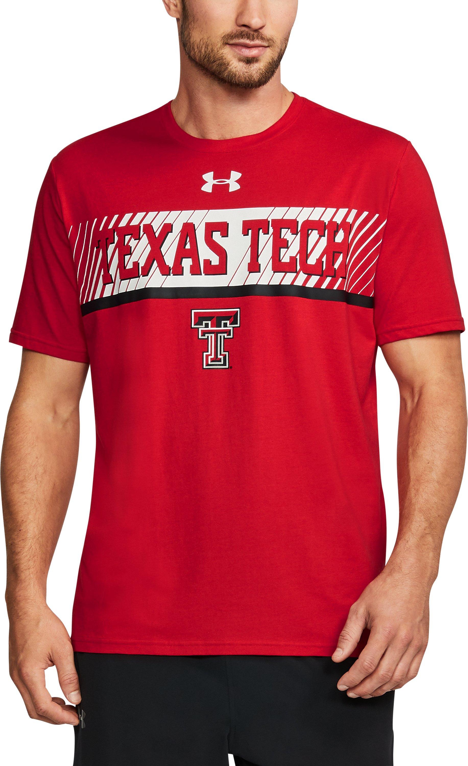 Men's Texas Tech Charged Cotton® T-Shirt, Red,