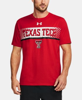 Men's Texas Tech Charged Cotton® T-Shirt  1  Color Available $34.99