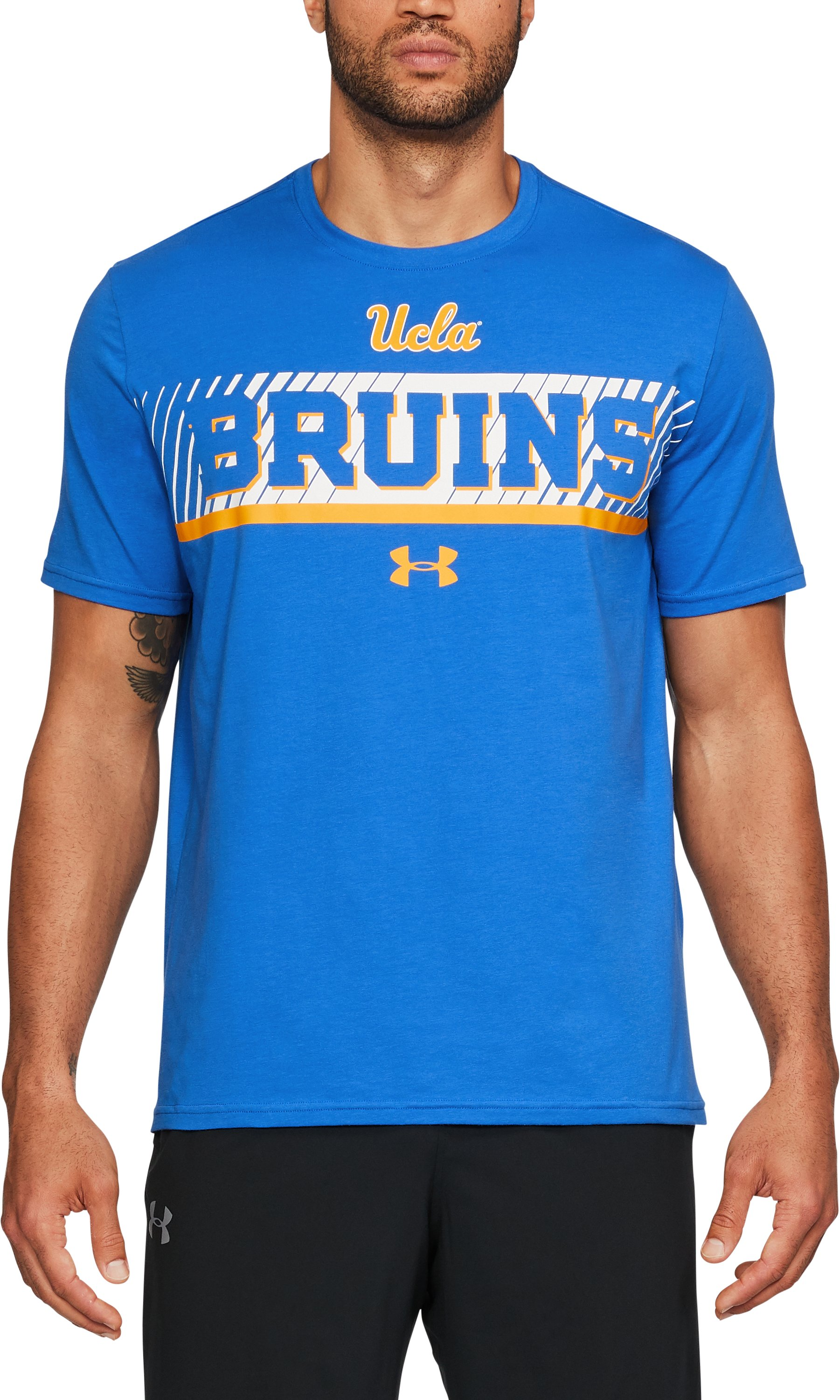 Men's UCLA T-Shirt, POWDERKEG BLUE, undefined