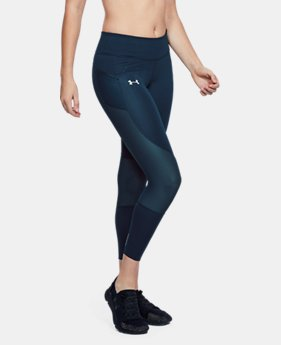 New to Outlet Women's UA Speedpocket Run Crop  1  Color Available $48 to $60