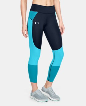 Women's UA Speedpocket Run Crop  1  Color Available $90