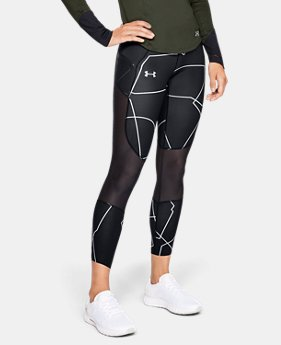 Women's UA Speedpocket Run Printed Crop  4  Colors Available $90