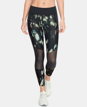 Women's UA Speedpocket Run Printed Crop   $90