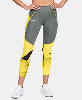 Women's UA Speedpocket Run Printed Crop  1  Color Available $90