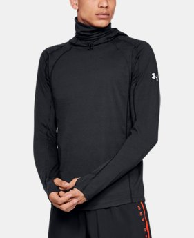 New Arrival  Men's UA Swyft Facemask Hoodie  1  Color Available $100