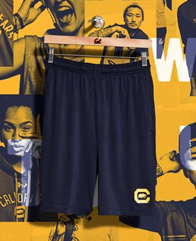 Men's Cal Bears UA Raid Shorts  1 Color $39.99