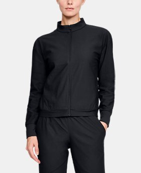 Women's UA Athlete Recovery Balance Track Jacket  1  Color Available $150